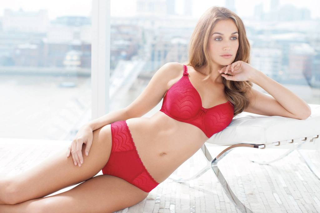 Fantasie_Echo Lace_Red (AW 2014)