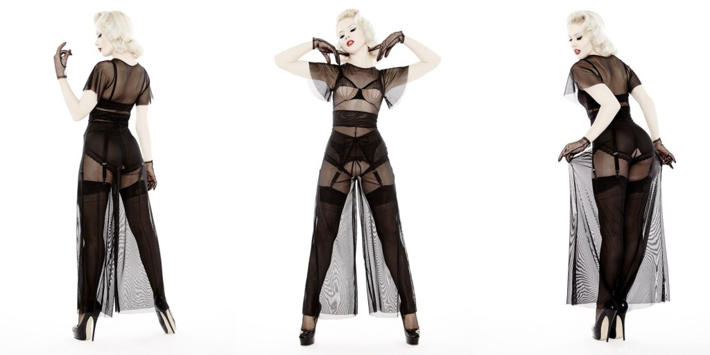 Dottie's Delights_Sheer Show Pantsuit+Show-Off Set (Sheer Show Collection 2014)