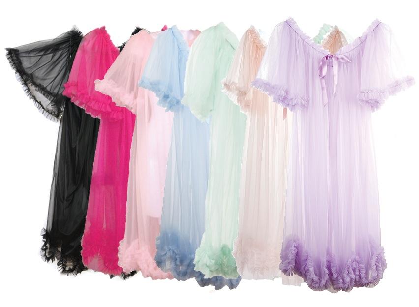 Dottie's Delights_Short Dressing Robe