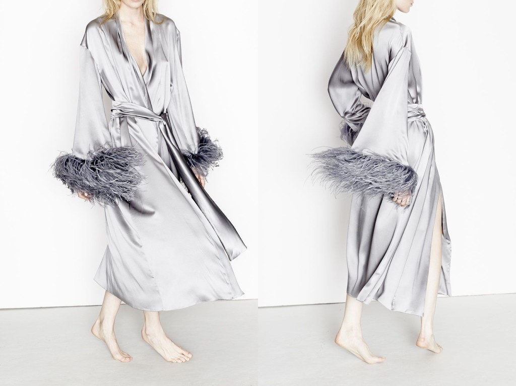 Three Graces London_Cat&Canary Robe_Twilight (Debut AW15)