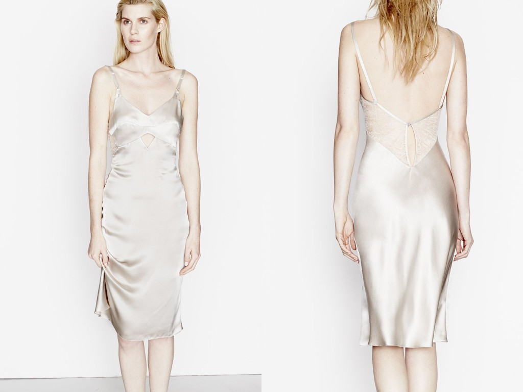 Three Graces London_Drums in the Night Slip Dress_Canvas (Debut AW15)