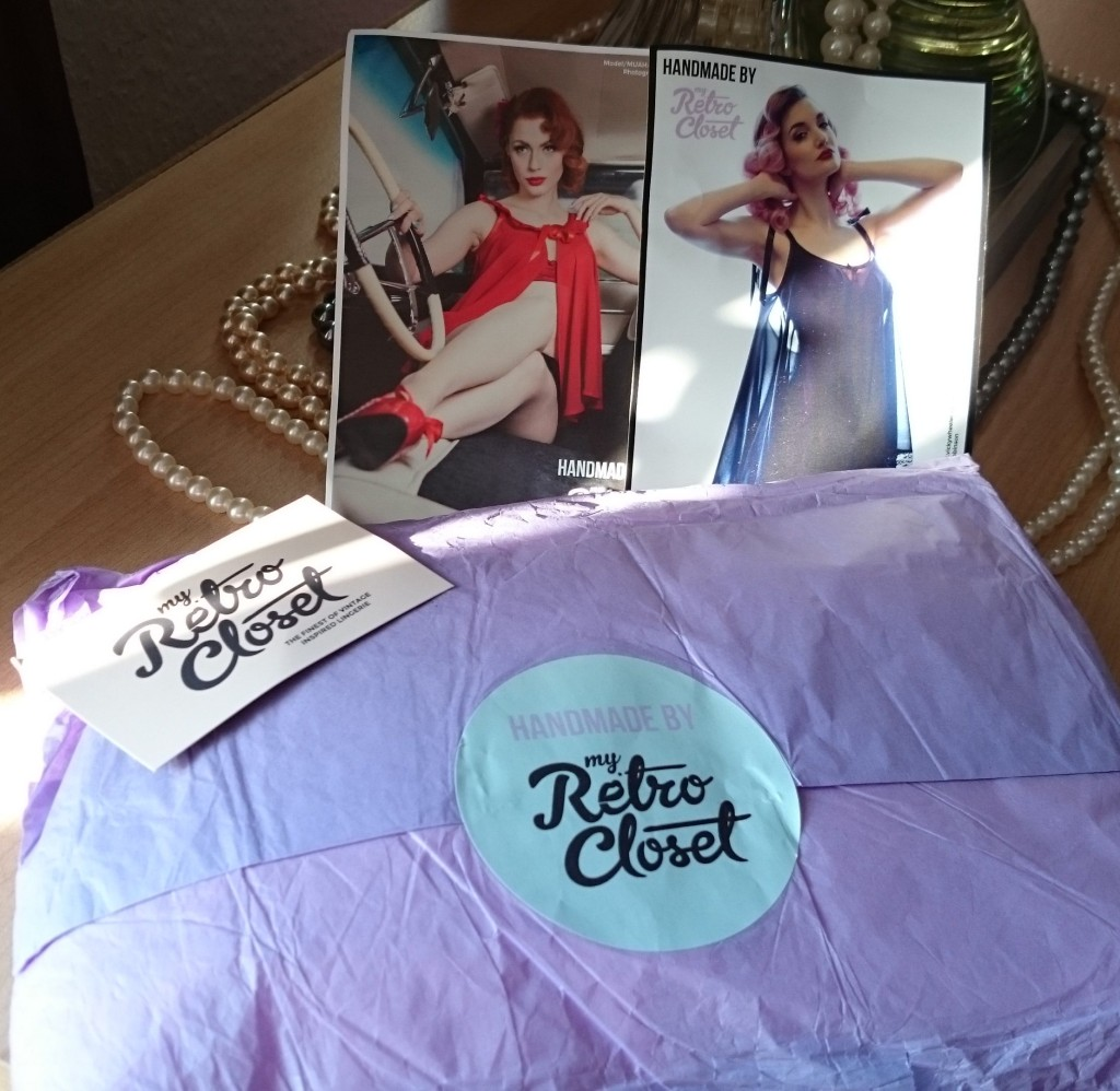 My Retro Closet - Review Packaging