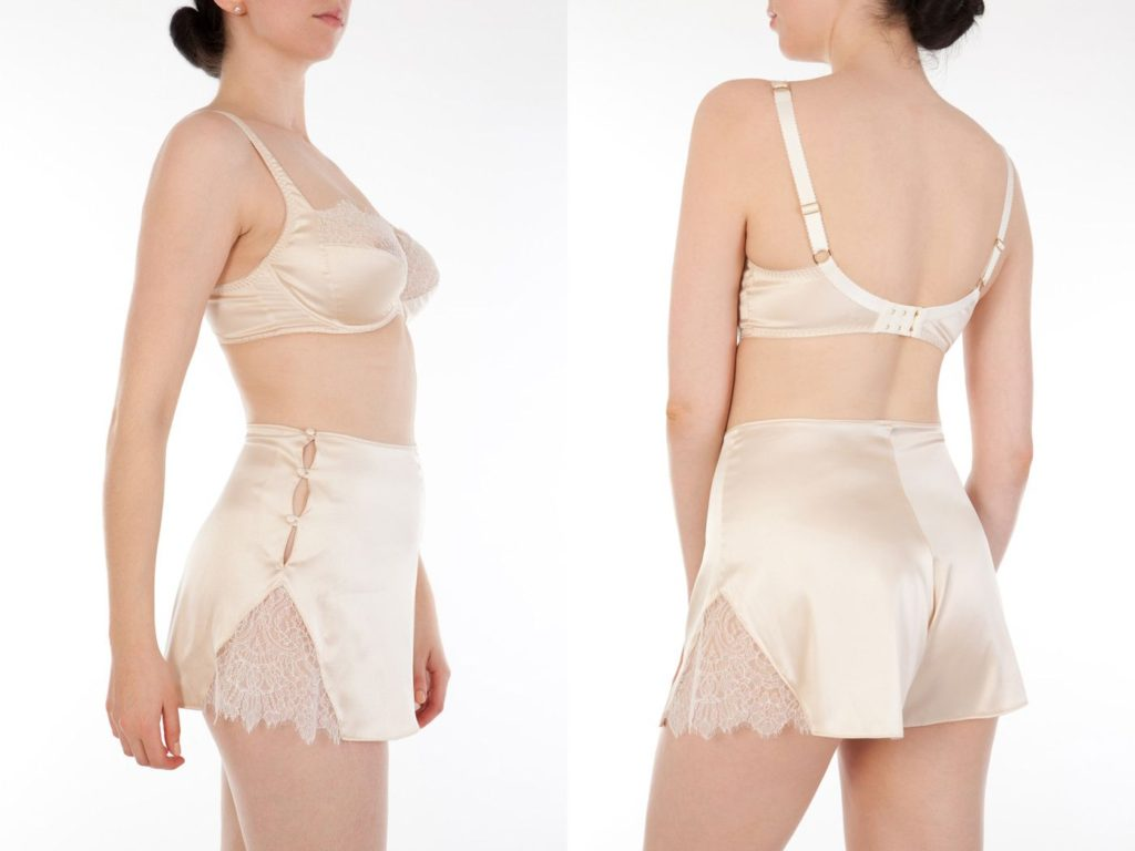 Harlow and Fox_Eleanor Almond_Full Cup Bra + French-Knicker