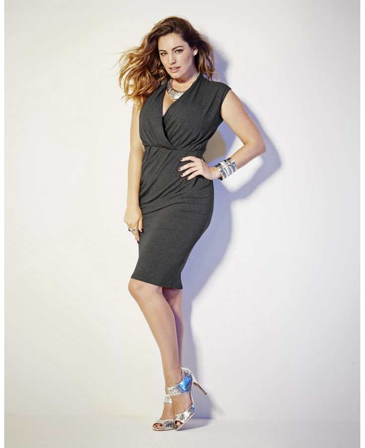 Simply Be_Kelly Brook Jersey Dress (AW 2014)