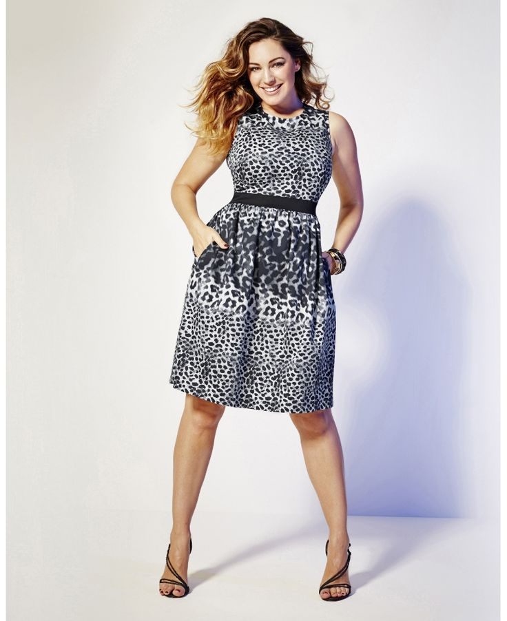 Simply Be_Kelly Brook Print Dress (AW 2014)