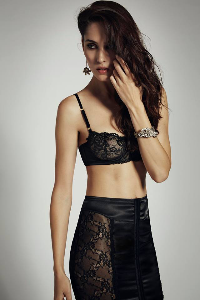 Bluebella_Desire Balcony Bra + Pencil Skirt (AW 2014)