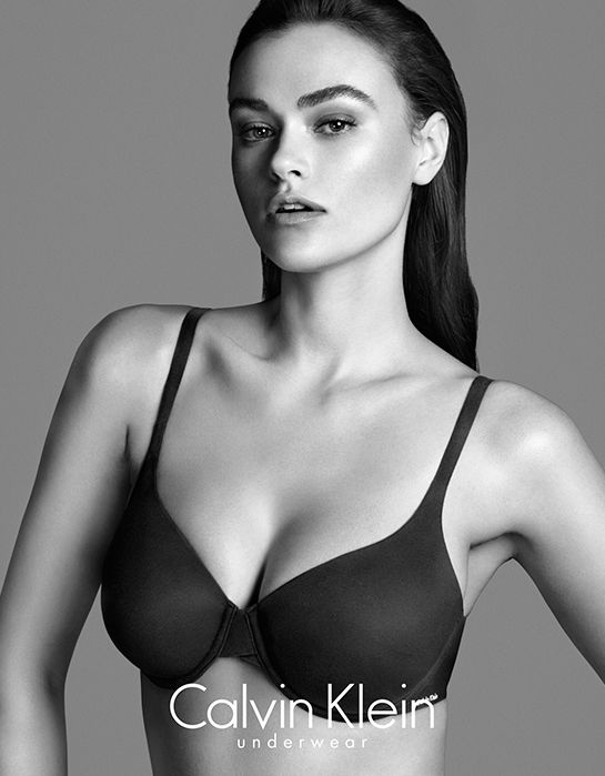 Calvin Klein_Perfectly Fit Campaing with Myla Dalbesio