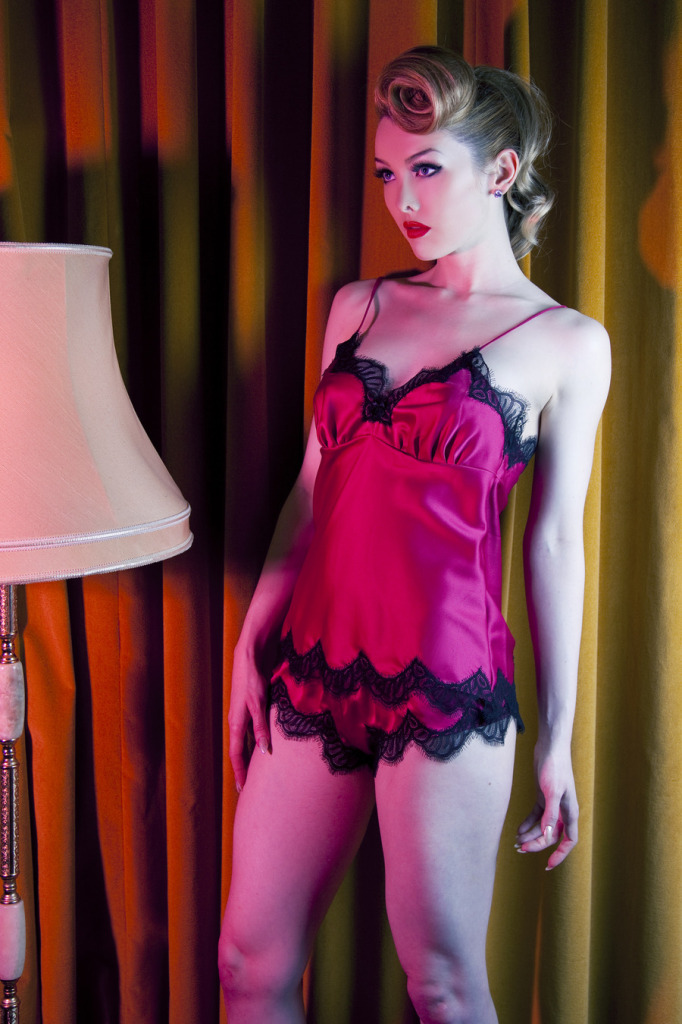 Playful Promises_Lipstick Camisole + French Knicker (Limited Edition 2014)