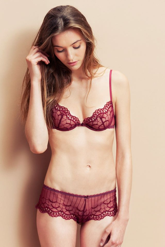 Ysé_L'Amoureuse Soft Cup Push-Up Bra + Shorty (AW 2014)