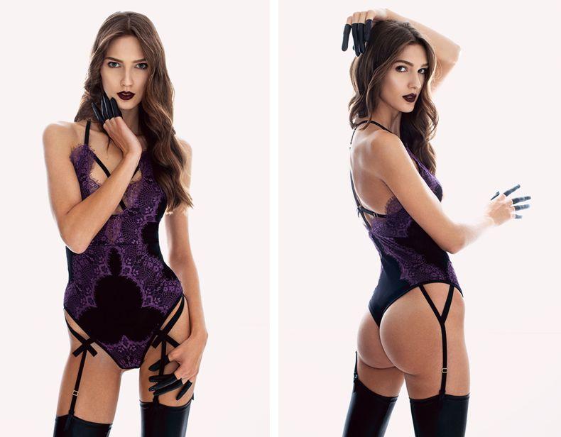 Ludique_Purpuria Bodysuit (The Temptress Collection)