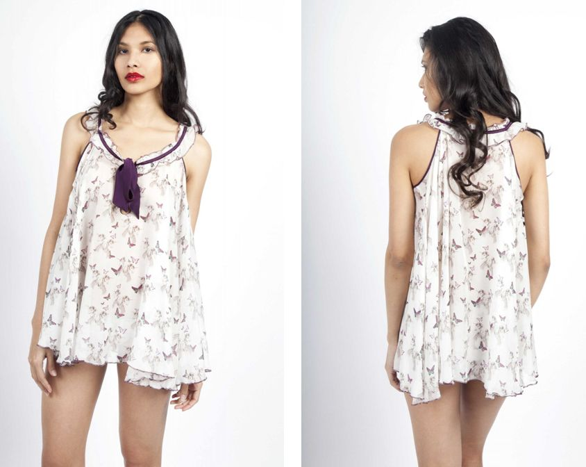 Dirty Pretty Things_Faerydae Silk Babydoll (AW13)