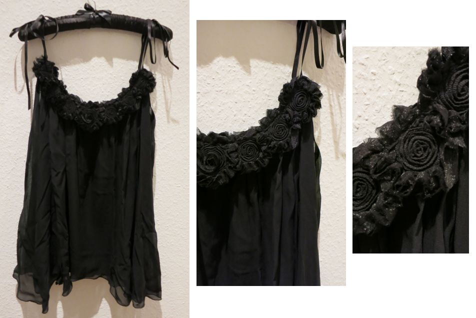 Ell + Cee_Midnight Corsage Babydoll_midnight black - Review Everyday Boudoir