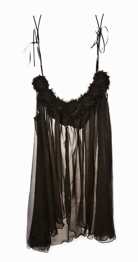 Ell + Cee_Midnight Corsage Babydoll_midnight black
