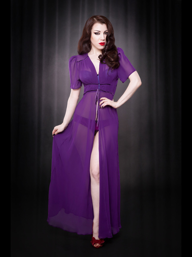 Kiss Me Deadly_Elle Robe_Purple (2013) - Iberian Black Arts