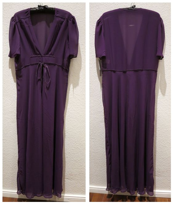 Kiss Me Deadly_Elle Robe_Purple (2013) - Review Everyday Boudoir