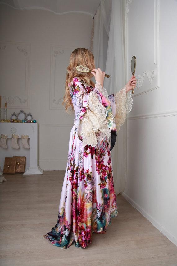 Robe de Style_Peignoir Marie Antoinette