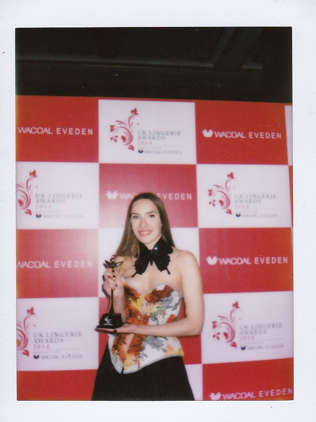 Karolina Laskowska_Best New Lingerie Designer UK Lingerie Awards 2014