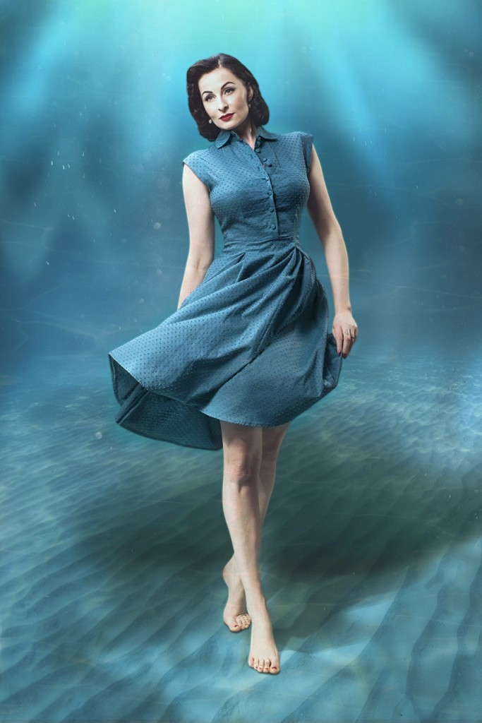 Gracy Q_Underwater Love_Shirtdress - The Elderwood Photography