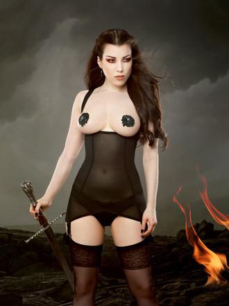 Kiss Me Deadly_Cupless Vargas Dress_Black