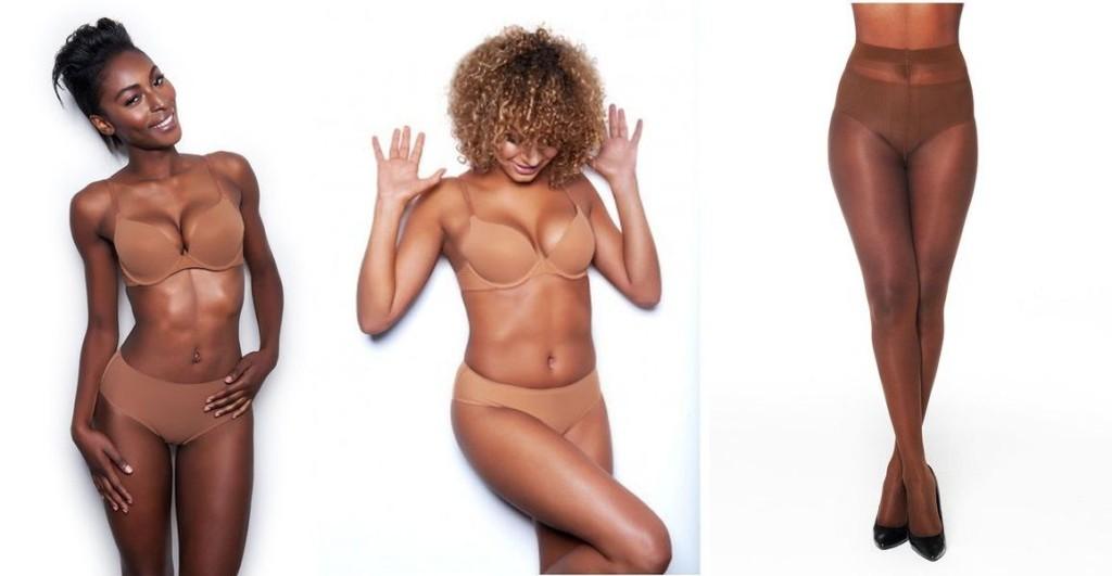 Nubian Skin_Essential T-Shirt Bra_Cinnamon+Cafe Au Lait, Matt 10 Dernier Tights_Berry