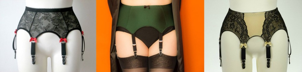 Coco's Retro Closet_6 Strap Suspender Belts
