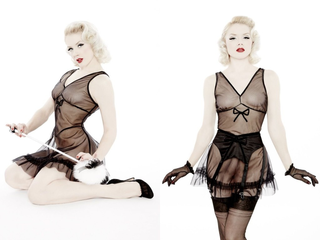 Dottie's Delights_Short'n'Sweet Night Dress (Sheer Show Collection 2014) 1