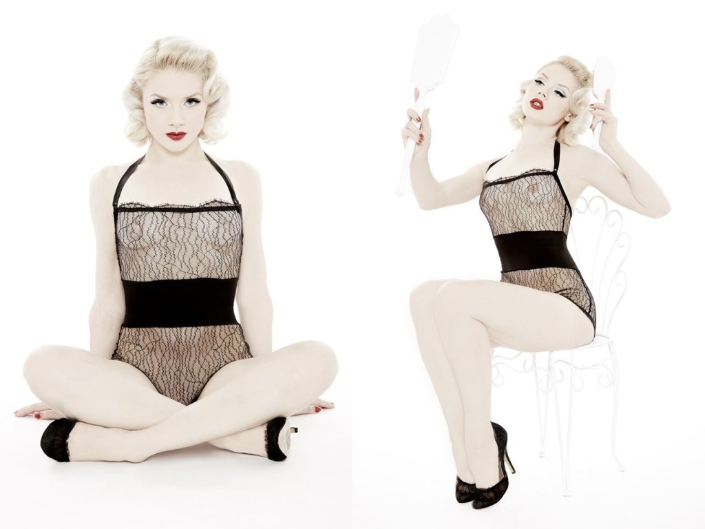Dottie's Delights_Show-Off Playsuit (Sheer Show Collection 2014) 0