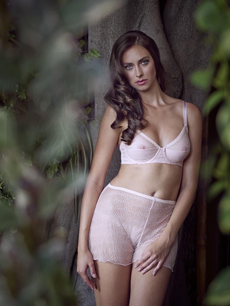 Dottie's Delights_Swizzle UW Bra+Lace Tap Pant_Pink (Sleepwalk Collection 2015) 2