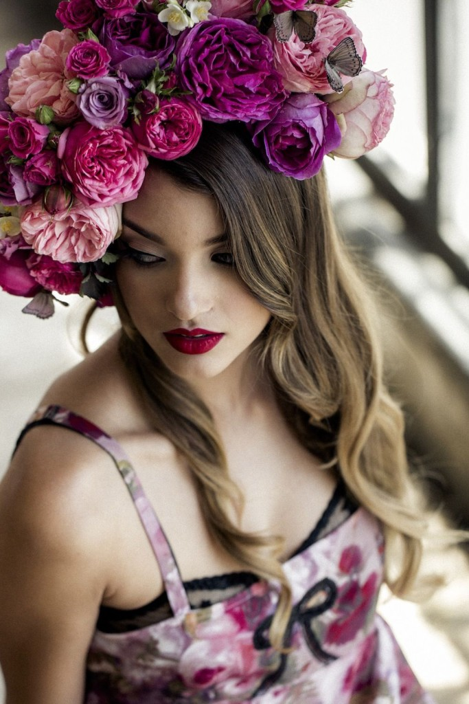Evgenia_Bralette+Deco Romper_China Rose (Night Garden SS15)
