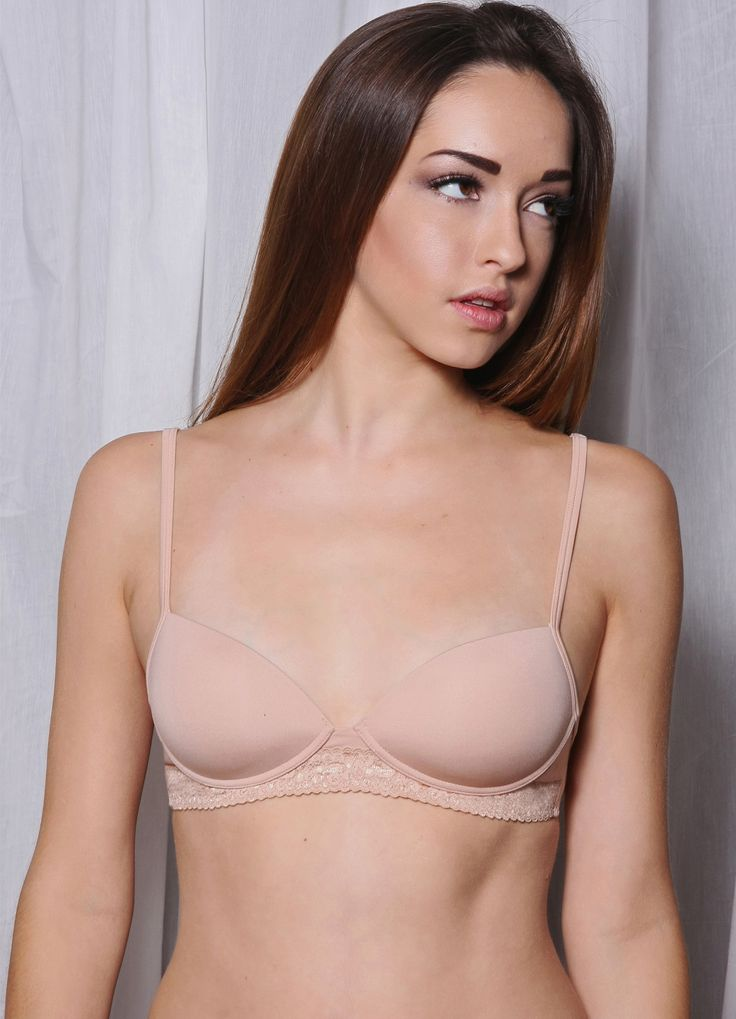 Lula Lu Petite_Wireless Push Up Bra_Beige