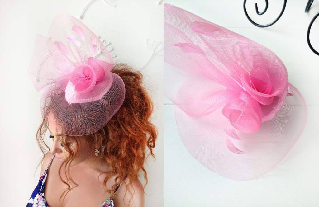 MissCocoBoutique_Pink Fascinator
