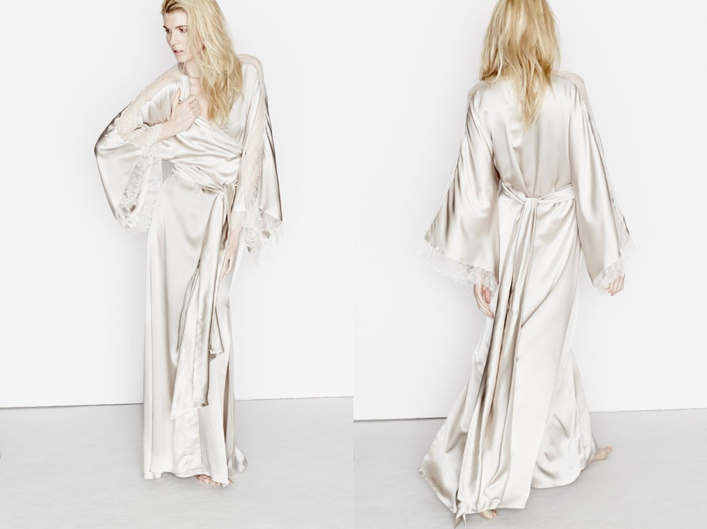 Three Graces London_Drums in the Night Maxi Robe_Canvas (Debut AW15)
