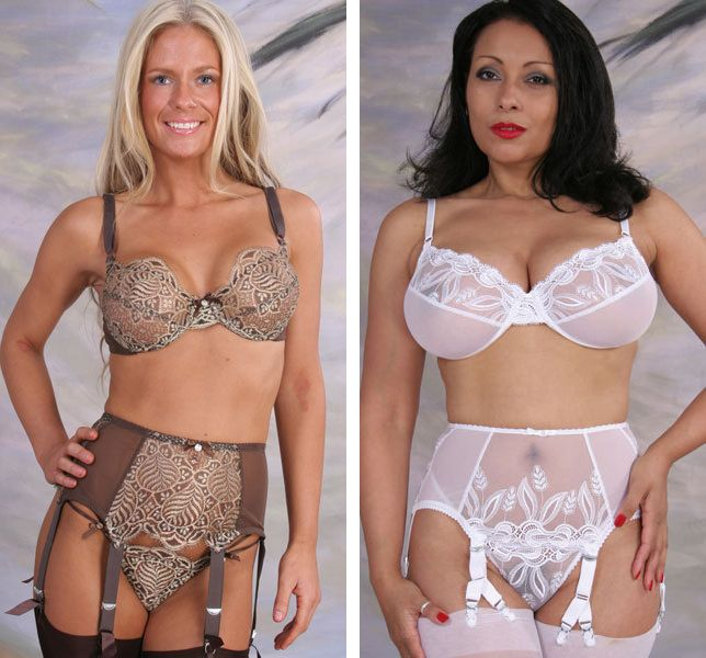 Touchable Suspender Belts