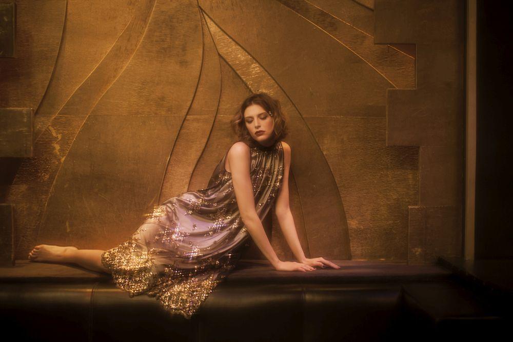 Felice Art Couture_Golden Rain Chemise (1)