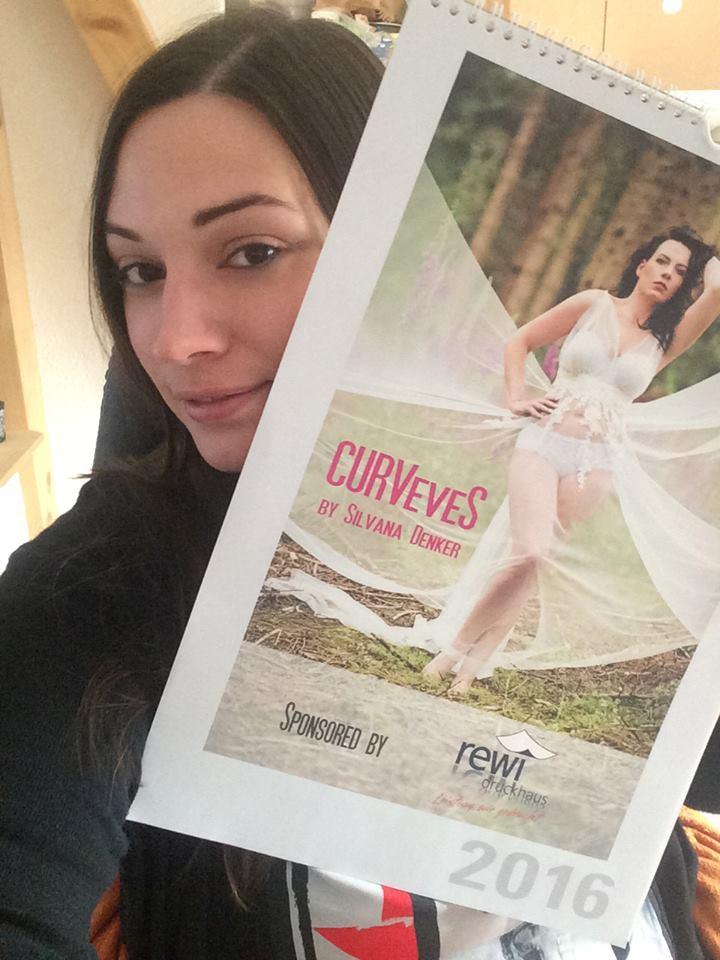 CURVeveS by Silvana Denker Kalender 2016 2