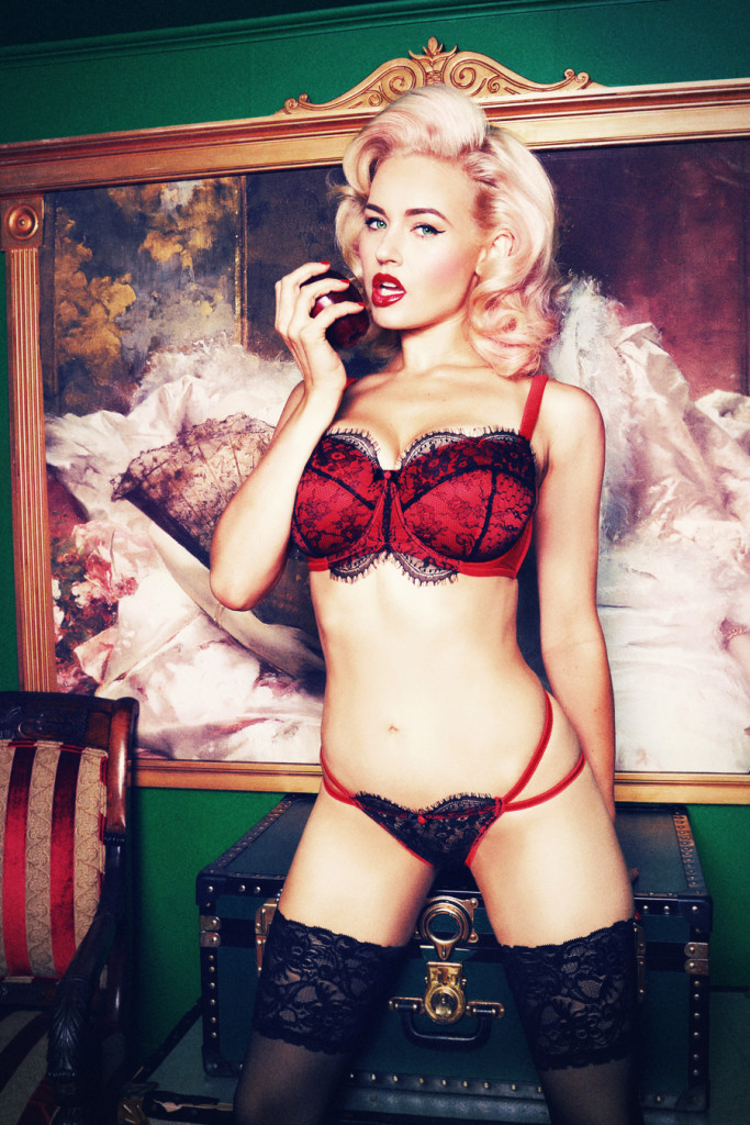 Playful Promises_Cordelia_Red (AW15 Fuller Bust Collection)