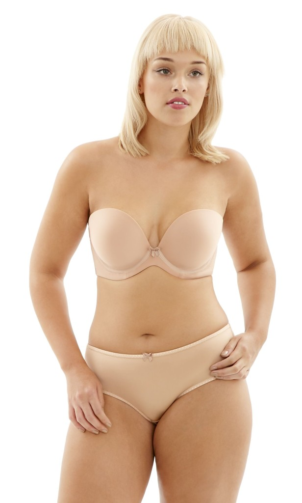 Cleo by Panache_Koko Moulded Strapless Bra_Nude - Trägerlose BHs Big Cups